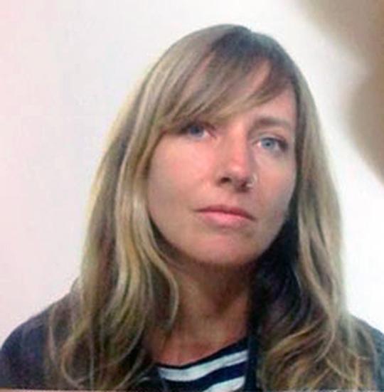 Portrait d'Arianna Sanesi exposée à la Galerie l'Aberrante en novembre 2018 - Montpellier - ex po photo contemporaine